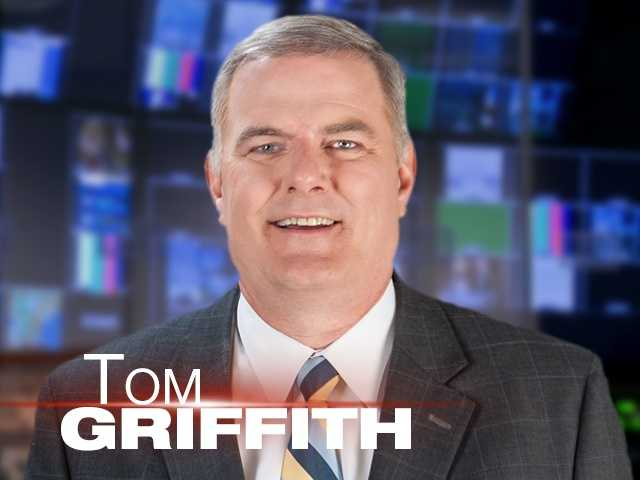 To celebrate Tom Griffith's 25 years at WMUR, here's a look at his life and career, in photos.