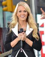 She has blonde hair...