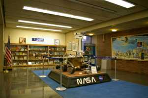 As does this exhibit in the Henry Whittmore library at Framingham State University in Framingham, Massachusetts.