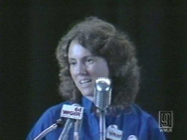 McAuliffe was selected to be the first teacher and private citizen in space. She was chosen from 11,000 candidates in NASA's Teacher In Space program.