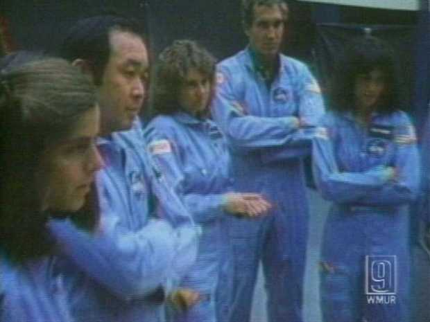 The Challenger crew members prepared to launch from the Kennedy Space Center in Cape Canaveral.