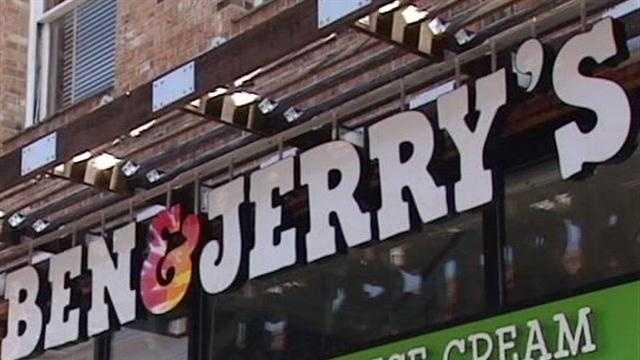 Ben & Jerry's store