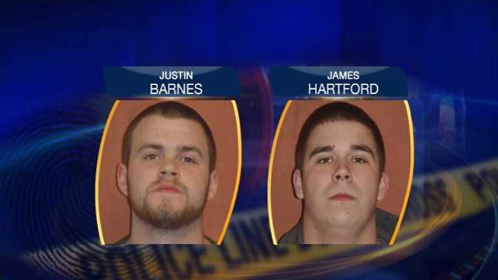 Hartford, Barnes mugshots