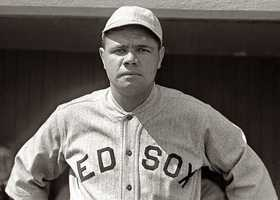 """If Jamie could interview anyonepast or presentit would be...""""Babe Ruth. I have always admired his 'larger than life' ways, and he changed the game of baseball with his homers,"""" Jamie said."""