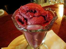 Jamie's favorite ice cream is black raspberry soft serve. He also likes the dark chocolate ice cream at Coldstone Creamery.