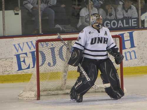"Jamie's favorite sports team is...""UNH Hockey. Period. I really want Dick Umile to get the national championship he deserves, and should have won in 1998,"" Jamie said."
