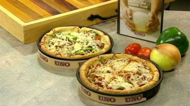 Learn how to make UNO's special deep-dish pizza