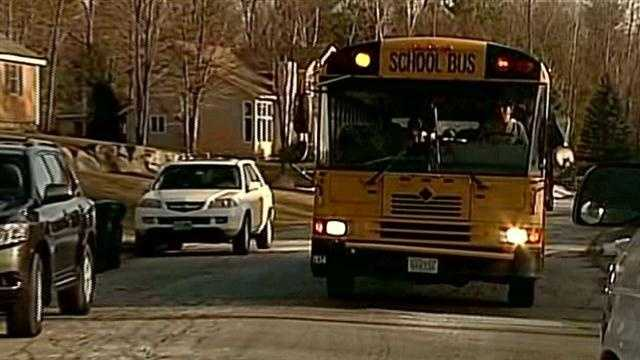 Students say they were approached at bus stops