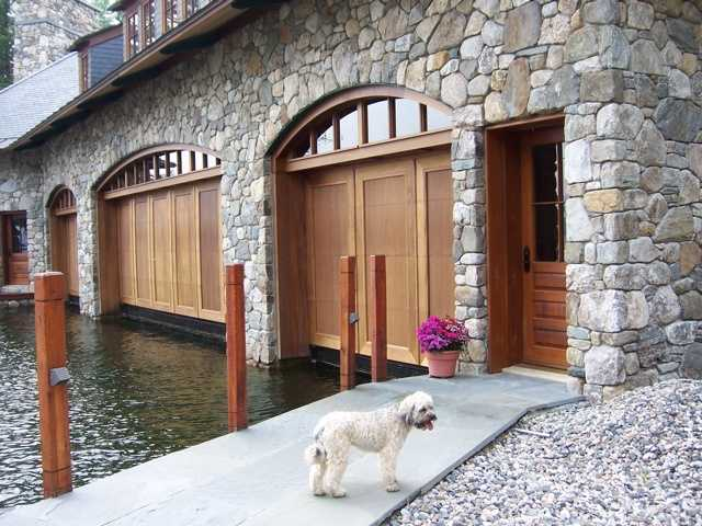 It also has a boathouse. The boathouse is approved for up to seven slips.