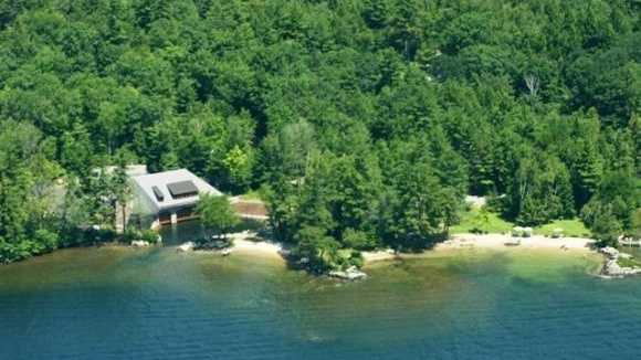 "According to the Realtor, this property is a ""once in a lifetime opportunity to acquire Lake Winnipesaukee's prime waterfront property. This majestic estate has had only 2 owners since the 1940s. Vintage rustic elegance is the hallmark of this estate."""
