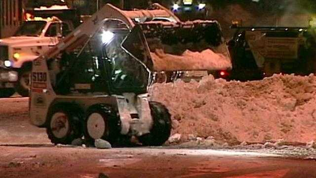 State continues digging out from storm