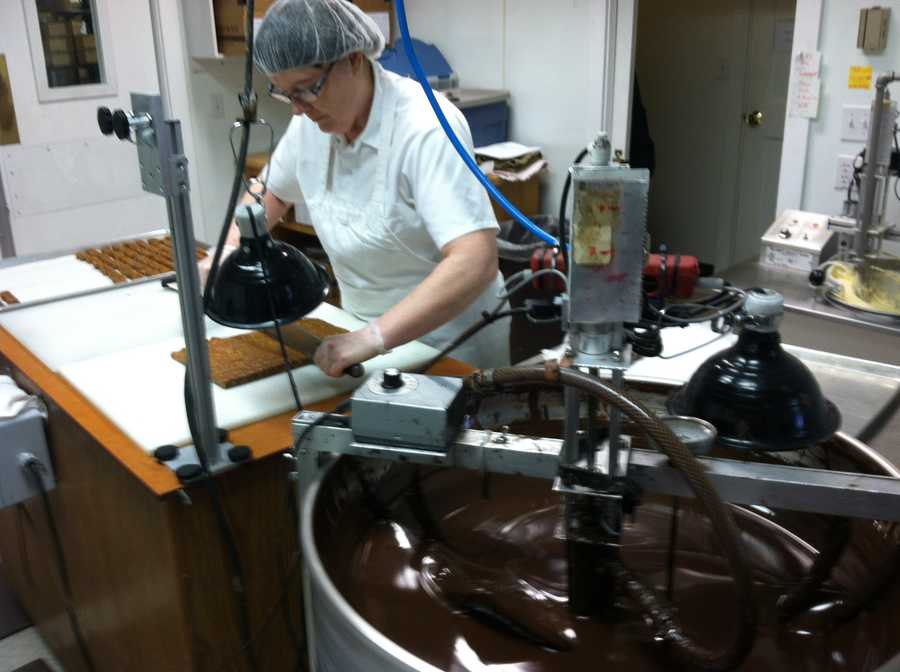 First, here are several photos from our visit to The Chocolatier in Concord.