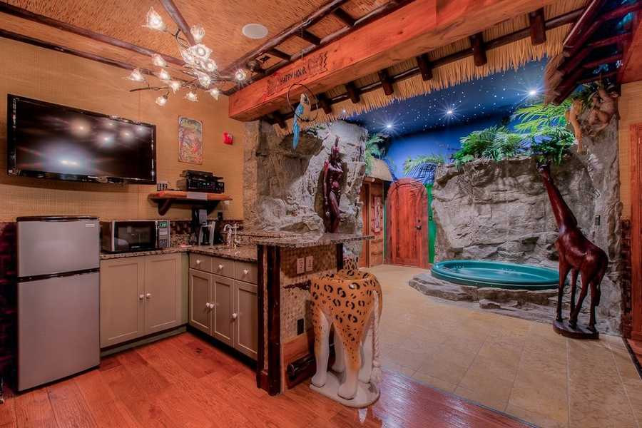 A viewer favorite for an exotic local getaway was Adventure Suites in North Conway. This unique hotel offers themed guest rooms from Ancient Rome to the jungle.