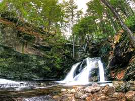 For more active couples, our viewers recommended going for a hike on one of New Hampshire's many trails. Watch out foricyspots!
