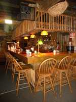 Viwers suggested The Woodshed Restaurant in Moultonboroughforfine dining with a rustic flare.