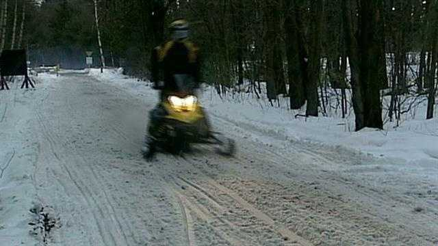 Heavy snowfall leads to great snowmobiling conditions