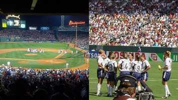 "Jennifer's favorite sports team? ""I love the Red Sox and the US Women's Soccer Team,"" Jennifer said."