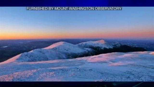 Wind gusts on Mt. Washington summit reach 129 mph