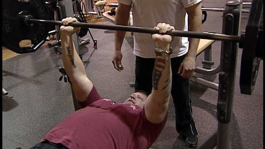 Bench Press for Wounded Warriors