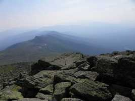 """Mike's favorite New Hampshire landmark is Mount Washington. """"I climbed the Northeast's highest peak many times and as a meteorologist it is hard not to be fascinated with the weather which occurs up over 6000 feet up,"""" Mike said."""