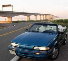 """Mike's first car was a Pontiac Sunbird. """"The sunroof blew open in the wrong direction on a trip down Rte. 93 not too soon after I started driving it,"""" Mike said."""