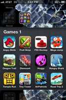 When it comes to non-news smart phone apps, Mike's favorites are the games.