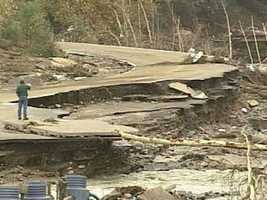 The Alstead Flood of October 2005.