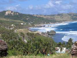 """If Shelley could go anywhere in the world right now it would be…""""Barbados, to research my family history and soak up some Caribbean heat,"""" Shelley said."""
