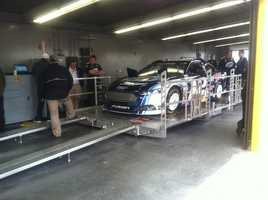 Here's a look at the scene from Daytona, days ahead of the big race.