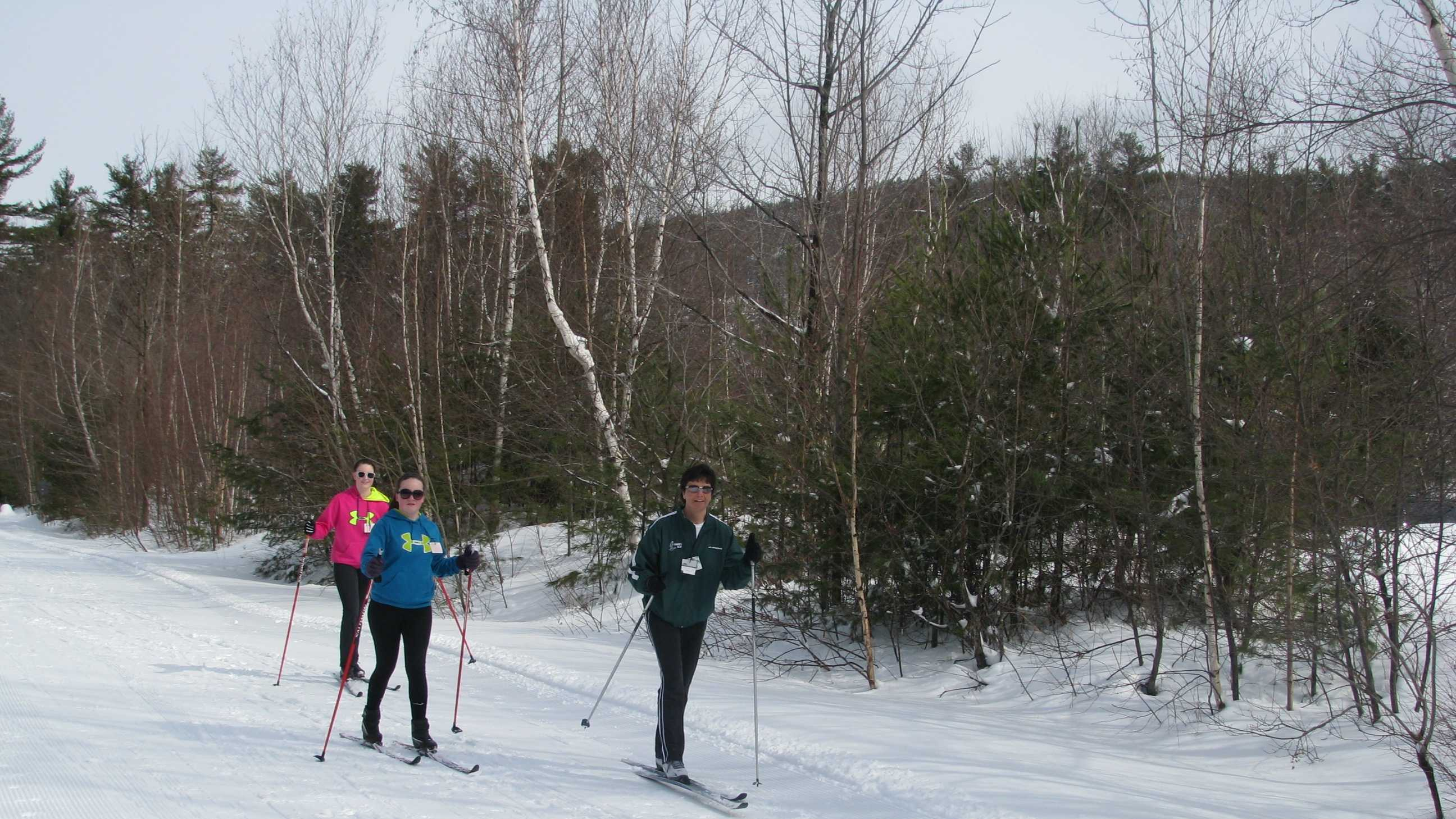 Wednesday skiing