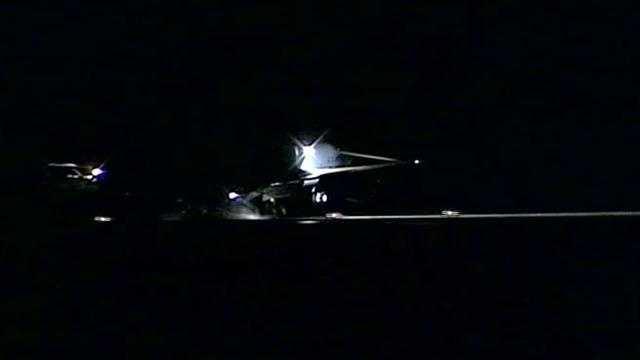 Plane makes emergency landing at Pease.