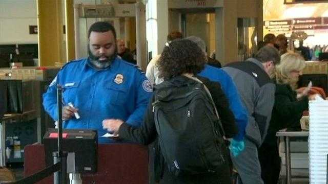Travelers react to big changes on airport security