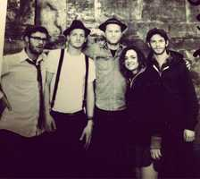 Currently on Josh's iPod are The Lumineers (pictured here), Toad the Wet Sprocket and Toby Keith.