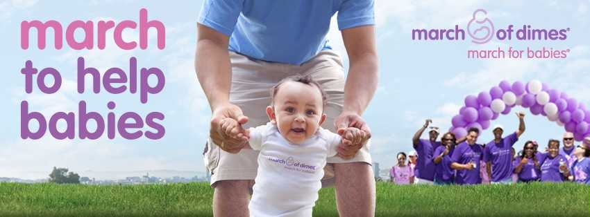 The March of Dimes sponsors fundraising walks across New Hampshire.