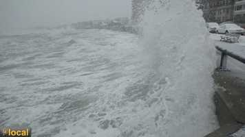 My storm photos and videos from Lynn Shore Drive