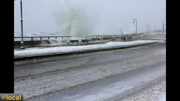 March 8th, snow storm, Lynn Shore Drive, Lynn, MA