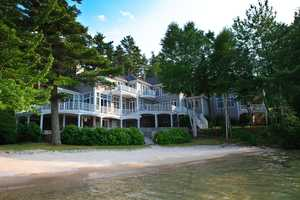 96 Hopewell Road in Alton, situated on LakeWinnipesaukee, is being offered at $4,400,000.