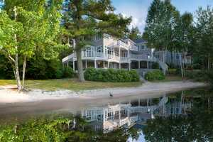 The home is set on a 2.39-acre lot.