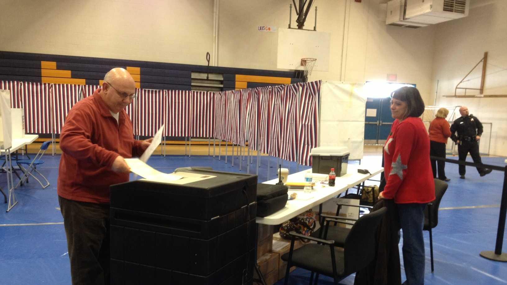 Hampstead voting