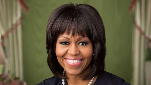 Michelle Obama, official portrait