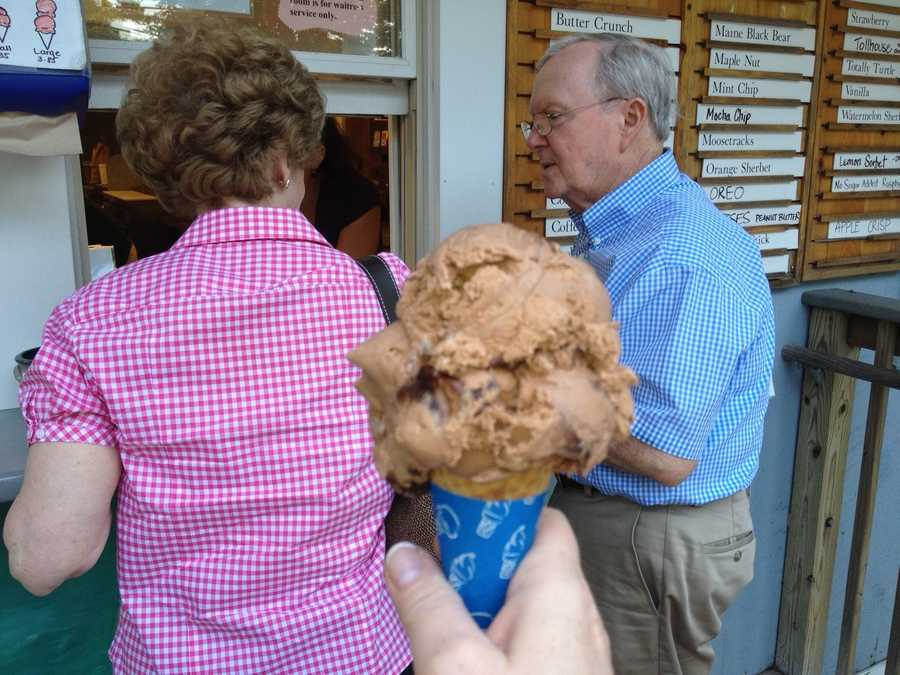 "Jean's favorite ice cream is... ""Any flavor that starts with chocolate,"" said Jean."