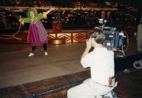 """One thing that you would be most surprised to know about Jean is that she has clown training. """"For a story I once trained with the Ringling Bros. and Barnum and Bailey Circus clowns and went out with them right before the circus started to perform for the kids. I was so nervous. My trick was the lasso. I love my job,"""" said Jean."""