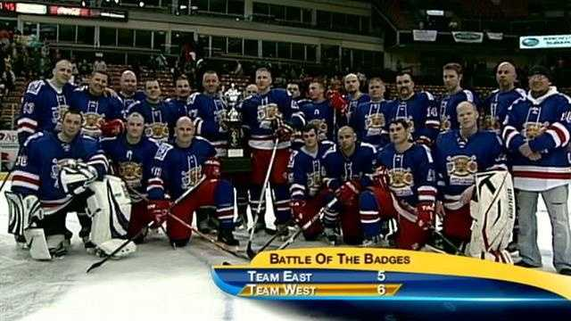 The West won the 6th annual charity game 6-5