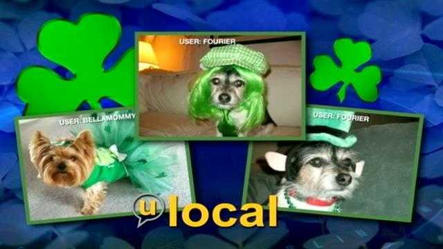 Going green for St. Patrick's Day!