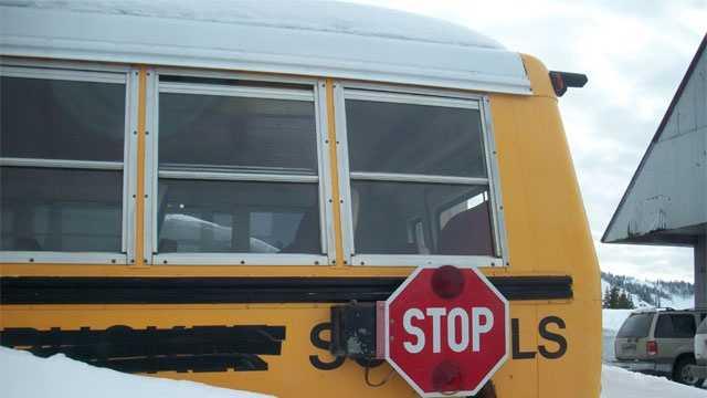 School Bus snow generic