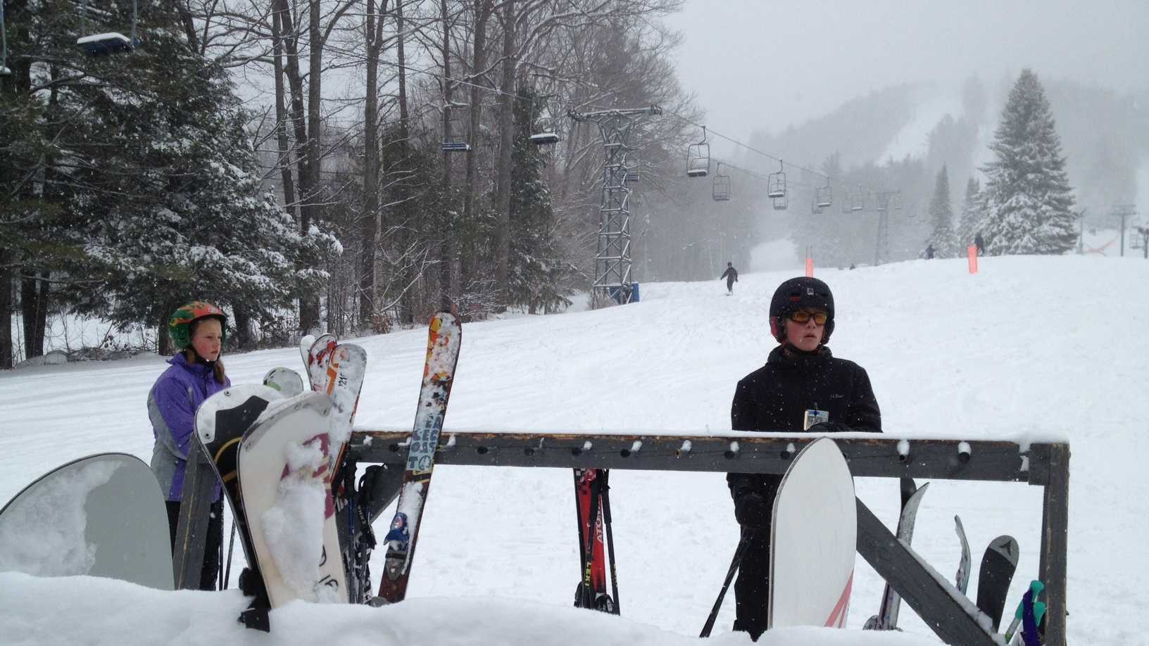 Pat's Peak skiing
