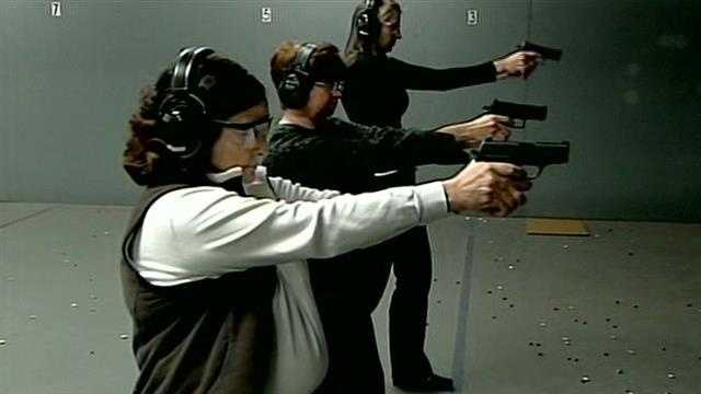 Women learn firearms skills at Sig Sauer Academy