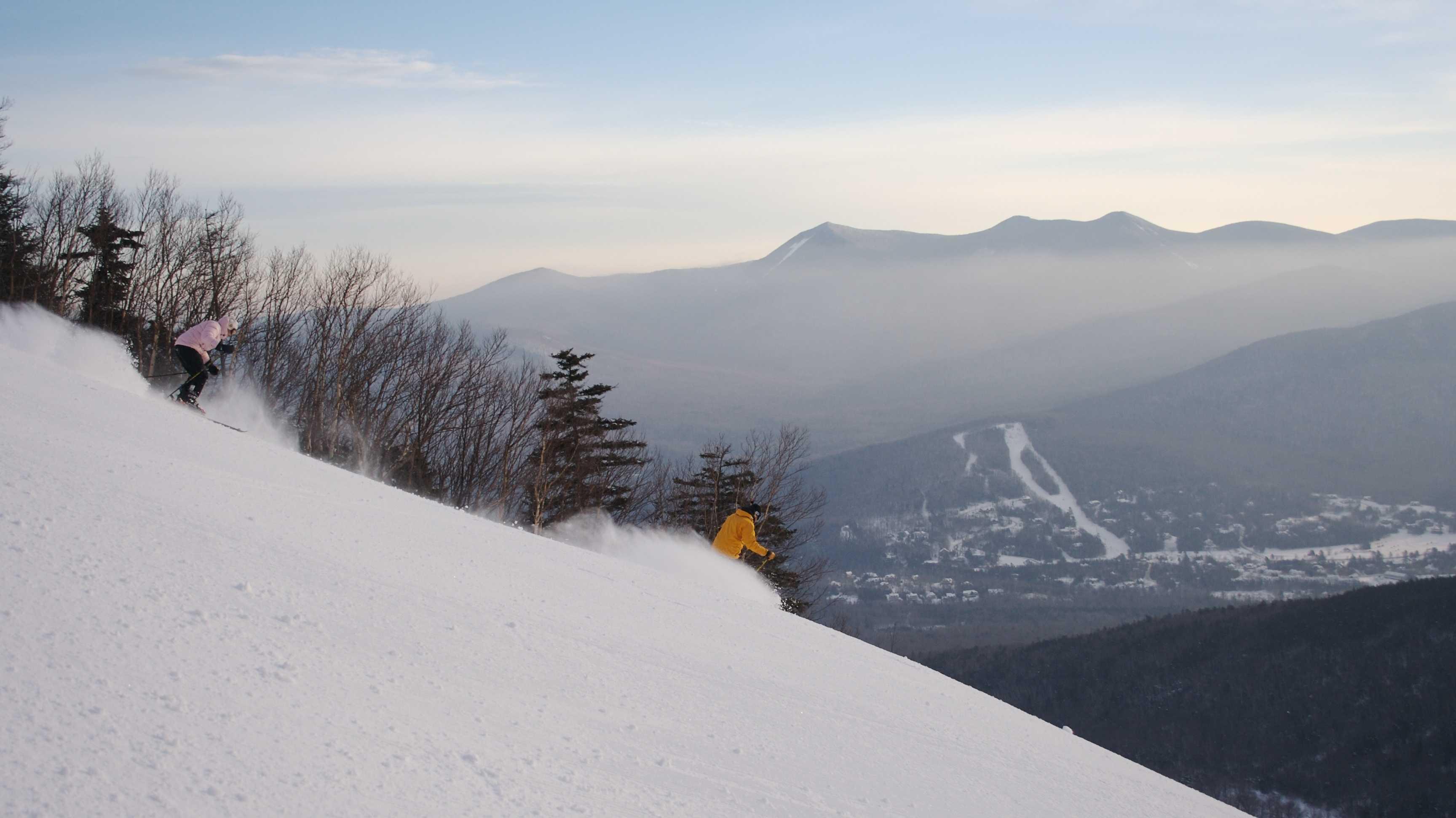 Waterville Valley skiing generic