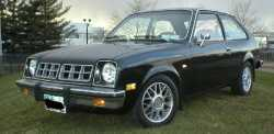 """Josh's first car was a 1980 Chevy Chevette. """"I worked an entire summer to afford it and it was a clunker. In fact, in my first week of owning it I had to replace the alternator just to keep it running,"""" said Josh."""