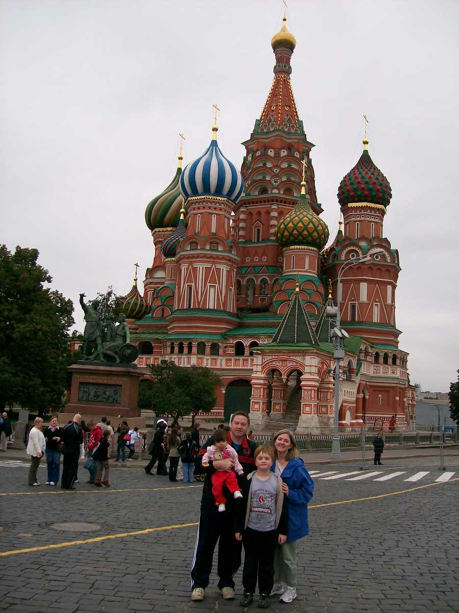 """The most interesting place Josh has ever traveled is Russia. """"We adopted our daughter from Kazan, Russia in 2009. We had to make two trips there, during which we lived in that city and also in Moscow for several weeks each trip. The cultural differences were amazing and it was an experience of a lifetime,"""" said Josh."""